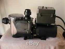 Waterway Champion Pool & Spa Pump with KB KBAC-27D AC Motor Speed Control NEW
