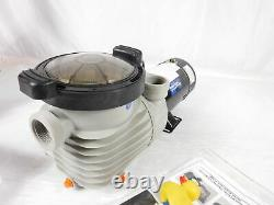 White River Above In Ground 1 HP Single Speed Pump For Swimming Pool SPA