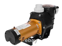 XtremepowerUS 75035-1 2 HP Self Prime in/Above Ground Swimming 2 Pool Pump